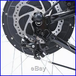 1000W Rear Wheel Electric Bicycle Motor Conversion Kit eBike Cycling Disc Brake