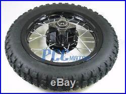 12 REAR RIM WHEEL TIRE DISC BRAKE PIT BIKE SDG COOLSTER 107 110 125cc I WM09K