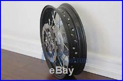 14 Front Rear Rim Wheel Pit Dirt Bike Disc Brake Rotor Supermoto M Rm26+rm27