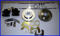 1957-1964 Ford fullsize Galaxie front and rear disc brake conversion chrome
