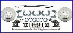 1957-1970 Ford Fairlane 1965-1973 Ford Mustang Rear Disc Brake Kit 9 Rear End