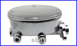 1958-68 Chevy Impala Front Rear Red Wilwood Disc Brake Chrome Booster Adjustable