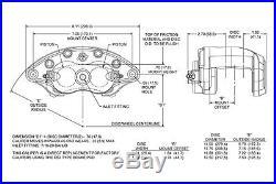 1958-68 Fullsize Chevy Front Rear Wilwood Disc Brake Kit Booster Conversion Kit