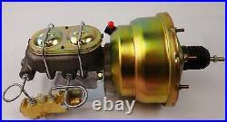 1960 1966 Chevrolet c10 Truck power brake booster master cylinder disc drum