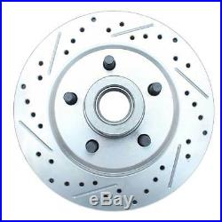 1961-72 FORD Galaxie Front & Rear Disc Brake Kit Drilled/ Slotted Rotors