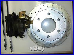 1963 1964 1965 chevy truck rear disc brake conversion 11.5 inch rotors 6 lug