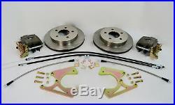 1963-1970 Chevrolet C10 Rear Disc Brake Conversion 5x5 Lug Bolt Pattern E-brake