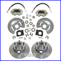 1964-66 Ford Mustang Front & Rear Power Disc Brake Conversion, 4 wheel Disc Kit