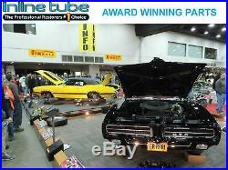 1964-77 GM 10 12 Bolt Rear Axle End Disc Brake Conversion Kit Set Slotted ROTORS
