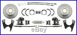 1965-68 Impala Standard / Basic Front & Rear Power Disc Brake Conversion Package