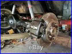 1965-73 Mustang Rear Disc Brake Adapter Conversion Kit 94-04 COBRA 11.65 Brakes