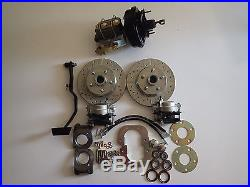 1967 1970 Ford Mustang power 4 wheel disc brake conversion front and rear