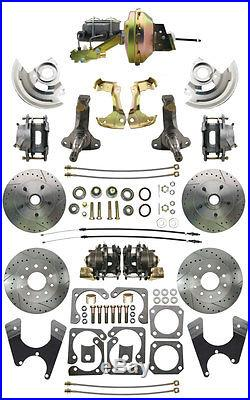 1967-72 Chevelle High Performance Power Front & Rear Disc Brake Conversion Kit