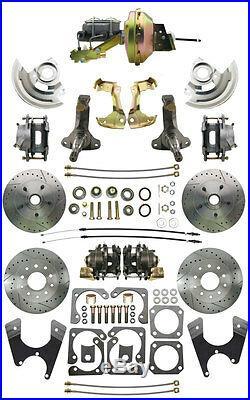 1969-74 Nova High Performance Power Front & Rear Disc Brake Conversion Kits