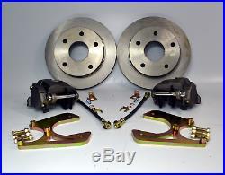 1973-1987 Chevrolet C10 Rear Disc Brake Conversion 5x5 Without E-brake