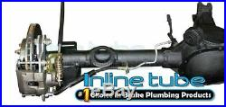 1978-88 GM A/G Body Rear Axle Cross Drill Slotted Disc Brake 15 Conversion Kit