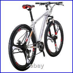 29 Mountain Bike Shimano 21 Speed Mens Disc Brakes Bicycle 29er XL Aluminium