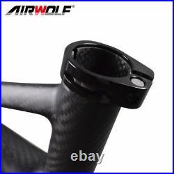 29er 2.4'' Full Suspension Carbon MTB Frame 19 PF30 DISC Bike framesets Matte