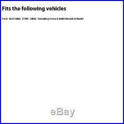 2 FRONT + 2 REAR Black Hart DRILLED & SLOTTED Disc Brake Rotors C1651