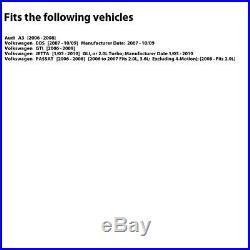 2 FRONT + 2 REAR Black Hart DRILLED & SLOTTED Disc Brake Rotors C2946