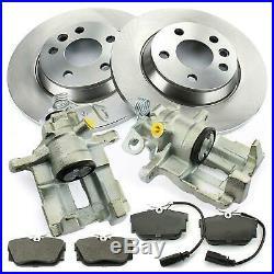 2x Brake Caliper Brake Discs Brake Pads Rear Seat Alhambra VW Sharan T4 Ford