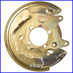 2x Toyota Corolla Verso left right brake disc shield dust cover anchor plate