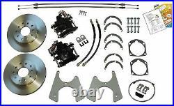 55-70 Chevrolet Chevy Fullsize Cars Rear End Disc Brake Conversion Kit Set NPark