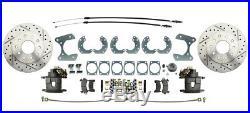 64-73 Ford Mustang 63-69 Falcon 64-69 Fairlane Front & Rear Disc Brake Kit 9