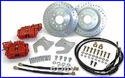 65 66 67 68 69 70 Chevy Impala 12 Rear Disc Brake Kit