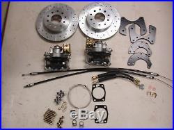 67 68 69 Camaro Firebird Rear Disc Brake Conversion