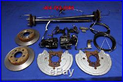87 88 89 90 91 92 93 Ford Mustang 5 Lug Rear Disc Brake Conversion Kit Fox