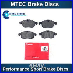Astra Zafira VXR MTEC Dimpled Grooved Black Brake Discs Front Rear & Brembo Pads