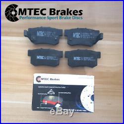 Audi TT MK2 1.8T FSi 2.0 TFSI 06-14 Front Rear Brake Discs & MTEC Pads