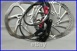 Avid Elixir CR Mountain Hydraulic Disc Brakes Front Rear Avid rotors TESTED
