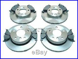 BMW E46 330 330D 330 Ci M SPORT 99-05 FRONT AND REAR BRAKE DISCS & PADS SET NEW