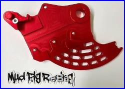 Beta Rr X Trainer 250 300 350 480 Alloy Rear Brake Disc Guard In Red