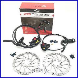 Bike Disc Brake Set Clarks M3 Hydraulic 160mm Front & Rear