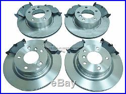 Bmw 1 Series 120d 120 2.0 E87 2004 To March 2007 Front & Rear Brake Discs & Pads