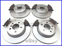 Bmw X3 2.0 2.5 3.0 E83 2004-2011 Front And Rear Brake Discs & Pads Set New