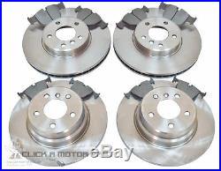 Bmw X5 E53 2000-2006 Front & Rear Brake Discs And Pads Set New Kit
