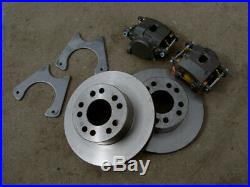 Bolt-On 9 Ford 11 Rear Disc Brake Kit 9 Inch Small Ford SBF Housing Ends