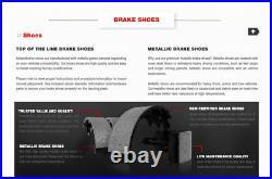 Brake Rotors + Ceramic Pads & Drums + Shoes For 87 88 89 90 91 92 93 Mustang