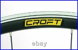 CROFT Comp 29er/700c MTB Bike Rim/Disc Wheelset 24/24H QR 7-11S Shimano/SRAM NEW