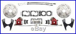 Chevy 10 12 Bolt Rear End Disc Brake Kit Chevelle, El Camino, Cutlass