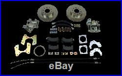 Chevy belair rear disc brake conversion 210 150 series includes parking brake