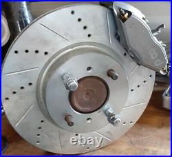 Datsun S30 240Z 260Z 280Z New REAR Disc Brake 4 Piston Wilwood E-Brake & Cable