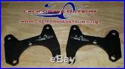 Datsun Z 240Z 260Z 280Z New Maxima Rear Disc Brake Conversion Brackets 70-78