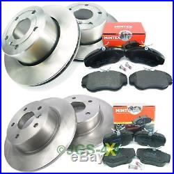 Discovery 2 Brake Kit Front & Rear Brake Discs + MINTEX Brake Pad Kit