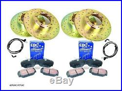 Discovery 3 Tdv6 Front & Rear Performance Discs, Pads & Sensor Kit- Pbdk01