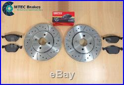 Drilled Grooved Brake Discs Pads Front Rear Focus St170